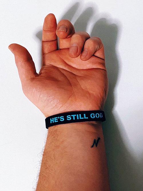 He's Still God Bracelet